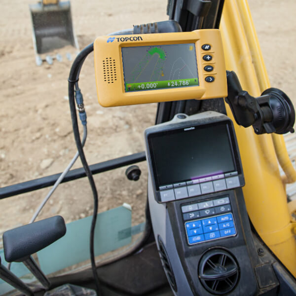 3D GPS laser bulldozer guidance
